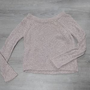 Free People short chunky knit sweater 😍